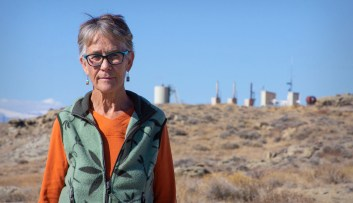 Sue Spencer geologist