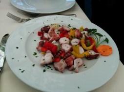 Octopus salada at Al Giardinetto da Severino