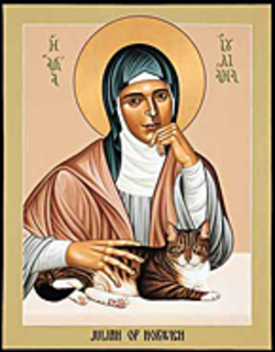 image of Julian of Norwich courtesy livingwittily.typepad.com
