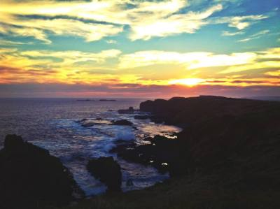 Sunset at Nobbies, Phillip Island