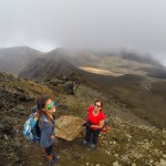 Trekking the Tongariro Alpine Crossing