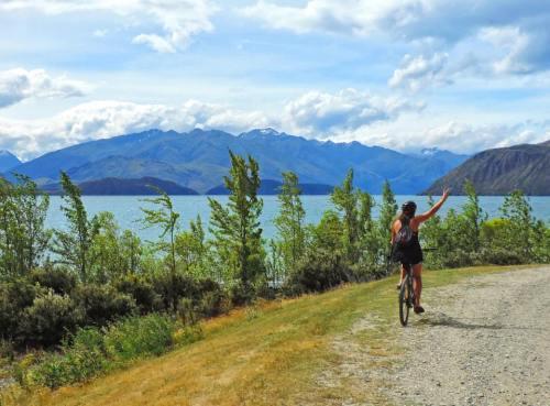 Biking Wanaka New Zealand