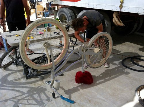 Bike Repair Burning Man