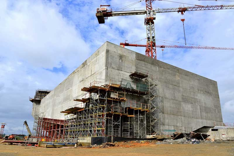 Calabar-International-Convention-Centre-pilling-works-removal-9
