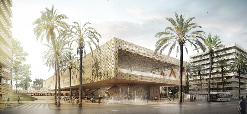AZPML-architects-rabat-agdal-masterplan-and-train-station-morocco-designboom-01-818x377