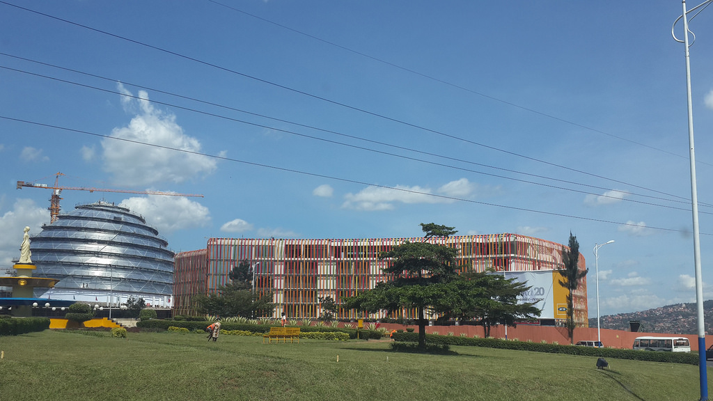 kigali convention center by Faustin L. Kanuma