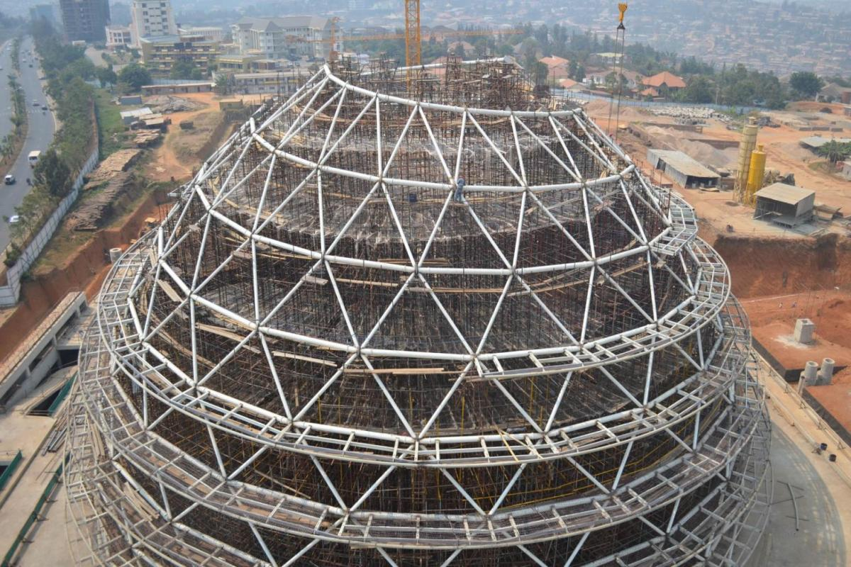 kigali convention center under construction 0