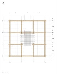 BAMBOO HOUSE _STUDIO CARDENAS5_roof_structure_plan