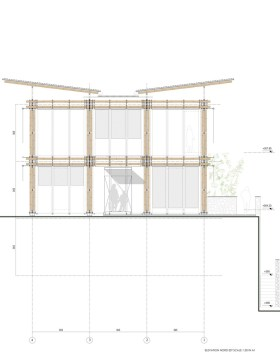 BAMBOO HOUSE _STUDIO CARDENAS9_elevation_nord_est