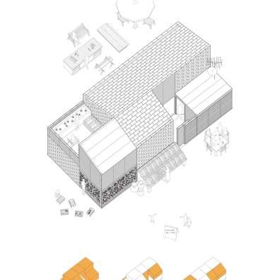 SUSTAINABLE HOUSING PROTOTYPE_MEXICO_TATIANA BILBAO_ PLANS 02