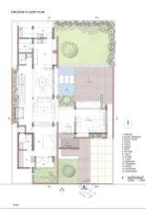 Brick House 01_GROUND_FLOOR_PLAN_Architecture Paradigm
