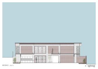 Brick House SECTION_03_Architecture Paradigm