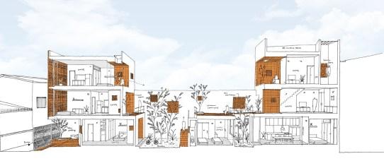 Binh Thanh Apartment_36 Sanuki Daisuke arch_drawings