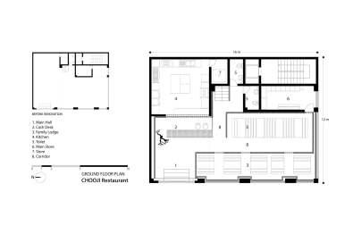 Chooji Restaurant_Admun Studio_19_Ground Floor Plan