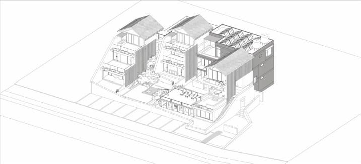 DALI MUNWOOD LAKESIDE RESORT_02_INIT DESIGN OFFICE_Drawings_models_axonometric