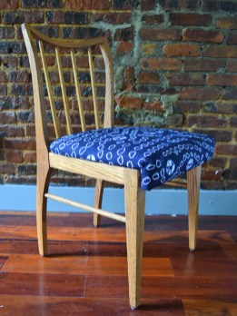 Nigerian Midnight With Stars Dining Chairs 3