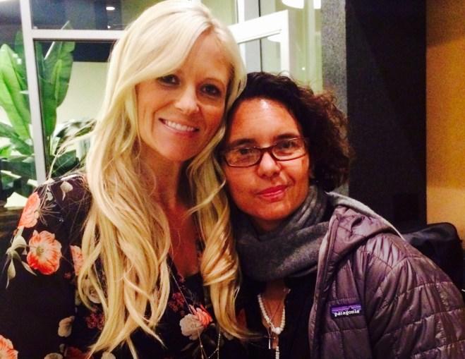 Megan and Sandrine