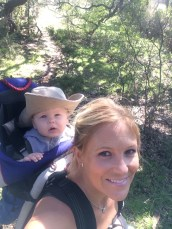 Backpackin with Mommy