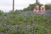 Pretty girls in the pretty flowers!