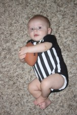 Already working that ball!