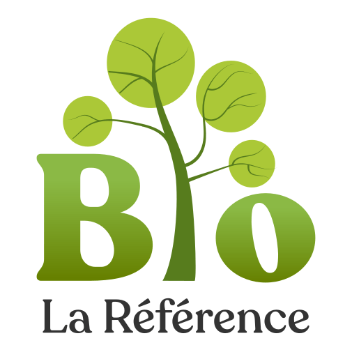 La référence BIO logo - website about organic food and natural products