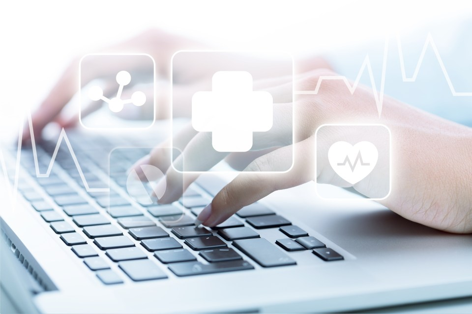 Healthcare and medicine healthcare medicine Computer Computer Keyboard Technology Internet