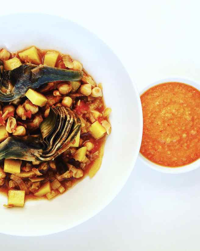 The South of France with this Chickpea Bouillabaisse