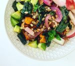 Sweet Potato and Farro Bowl