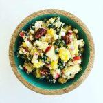 Quinoa Salad with Fresh Fruits and Ponzu Vinaigrette