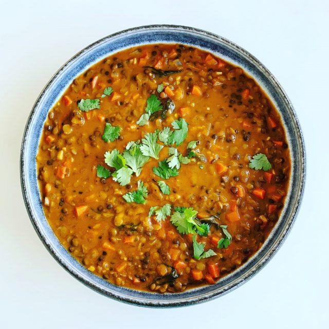 Creamy Tomato Lentil Soup
