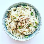 Extra Creamy Celery Root and Pear Slaw Thumbnail
