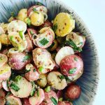Mustard Tarragon Baby Potato Salad