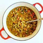 Tarragon-Spiced Lentil Soup with Fennel and Shiitake
