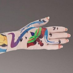 Ava kompressionshandske med fingre