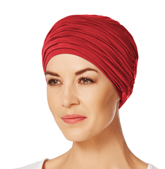 Rød Karma Turban