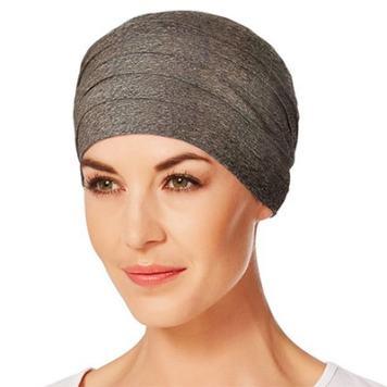 Yoga turban varm brun melange