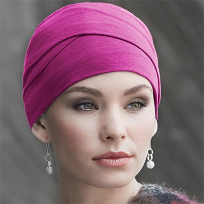 Zoya turban fuchsia