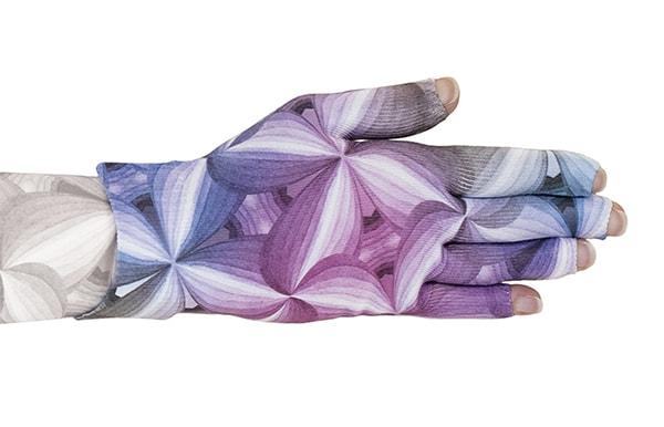 Kaleidoscope kompressionshandske med fingre