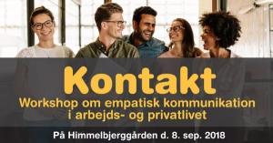 Kontakt - workshops om Ikkevoldelig kommunikation