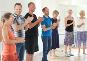 Deltagere i kursus om IVK, Himmelbjerggården i juni 2019