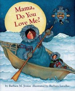 children's book - Mama Do You Love Me