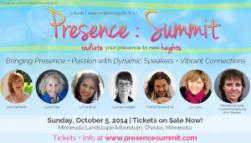 Presence Summit at Minnesota Arboretum - Oct 5, 2014