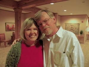 Liv Lane and Dr. Peter Benson