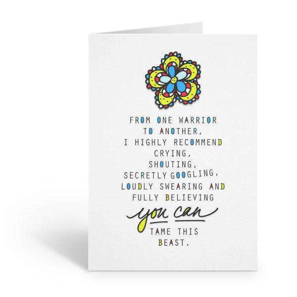 Cancer Warrior Card