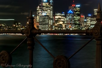 The city from Luna Park