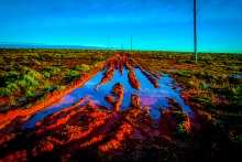 Saturated Woomera SA