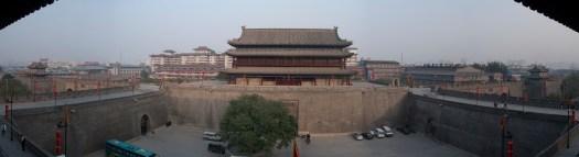 Panorama of Xi'an Wall
