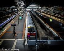 Train at Southern Cross Rail Melbourne