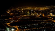 Dubai from the plane window