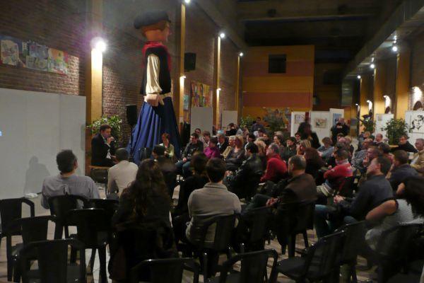 Sensibilisation au handicap lors de la semaine sur le handicap psychique, salle Courmont à Lille